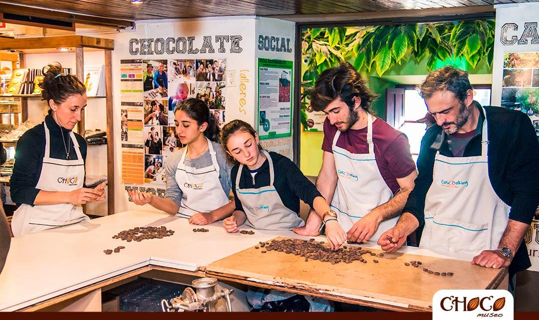 Aprender a hacer cacao y chocolate