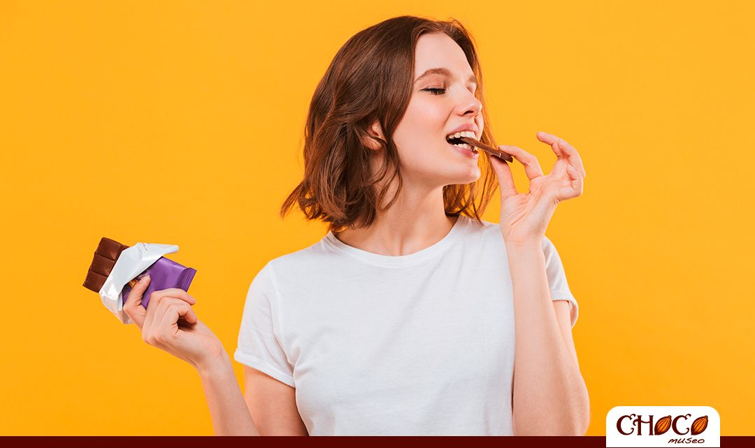 ¿Cómo y por qué el chocolate te hace feliz?