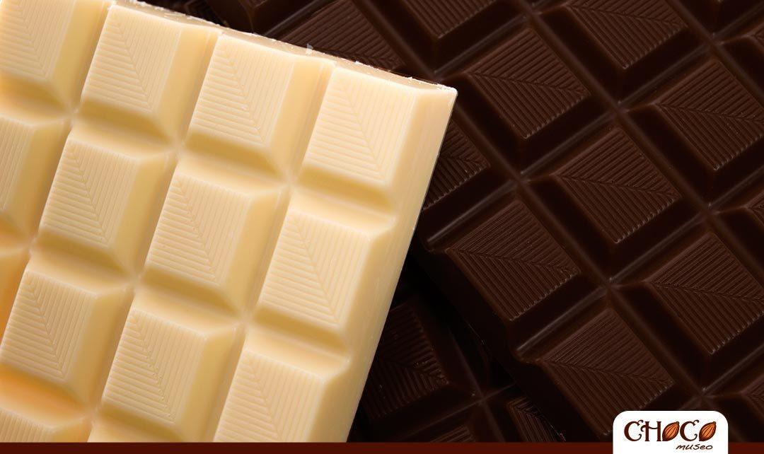 Diferencias entre chocolate negro y chocolate blanco