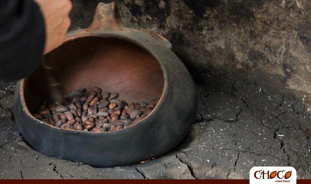 Paso 6: Tostado del cacao